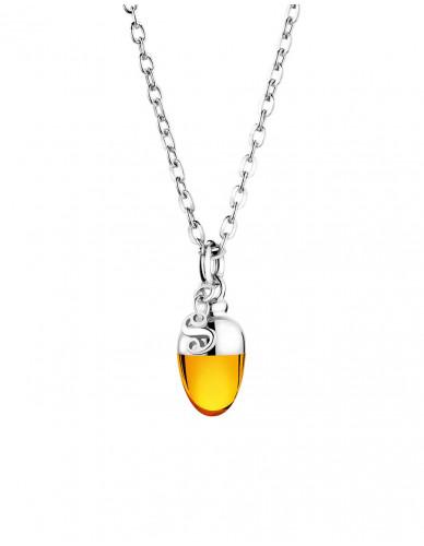 Suay I Schmuckanhänger - Amber orange