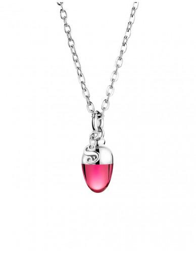 Suay I Schmuckanhänger - Rhodolit pink