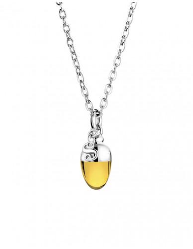 Suay I Schmuckanhänger - Calcite gold
