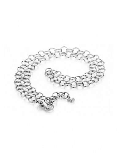 Pagoy I Fantasy Kette+Armband I Silber rhodiniert