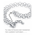 Pagoy I Fantasy Kette+Armband rhodiniert