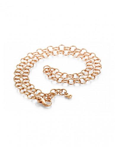 Pagoy I Fantasy Kette+Armband I Silber rosévergoldet