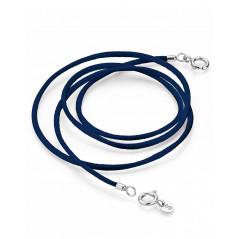 Pagoy I Schmuck-/Maskenband I Sapphire blau Silber rhodiniert