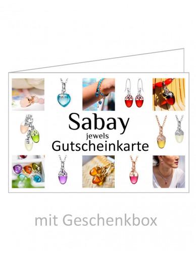 Sabay Gutscheinkarte